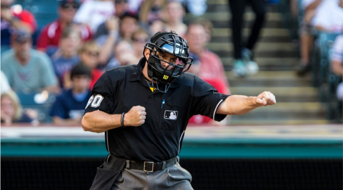 Keep the Home Plate Umpire on the Field