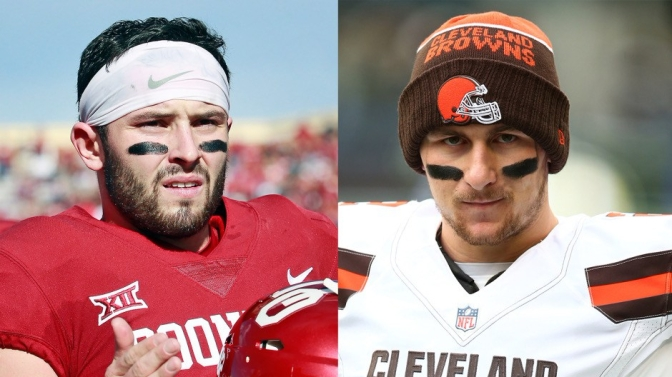 Manziel vs Mayfield: a tale of arrest records, public scrutiny, and Heisman trophies